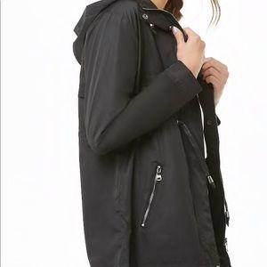 Hooded Drawstring jacket